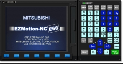 Kursus CNC Mitsubitshi Turning EZ Motion
