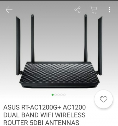 Agen Router antennas asus Rt-AC1200G dual band