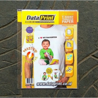 Data Print T-Shirt Transfer Paper 120 gsm A4 / DP-TS-120