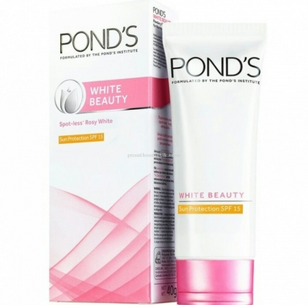 Harga Ponds cream spotless rosy white beauty 40Gr