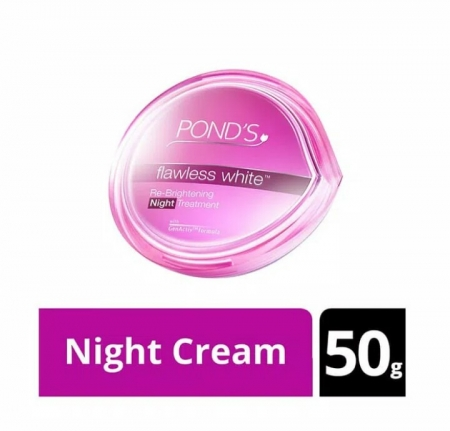 harga murah Ponds flawless white night cream 50G