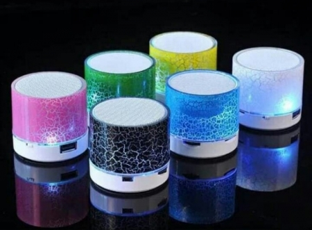 speaker LED bluetooth speaker mini audio music