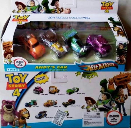 maianan diecast mobil mobilan toy story