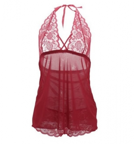 Sexy Lingerie Big Size Babydoll + G String