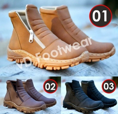 SEPATU PRIA CASUAL SNEAKERS SAFETY BOOTS