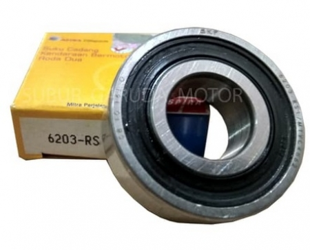 LAHER SKF ASPIRA 6203 RS BEARING BALL