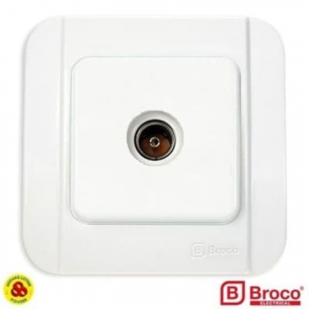 BROCO STOP KONTAK TV GALLEO G183-55S WHITE