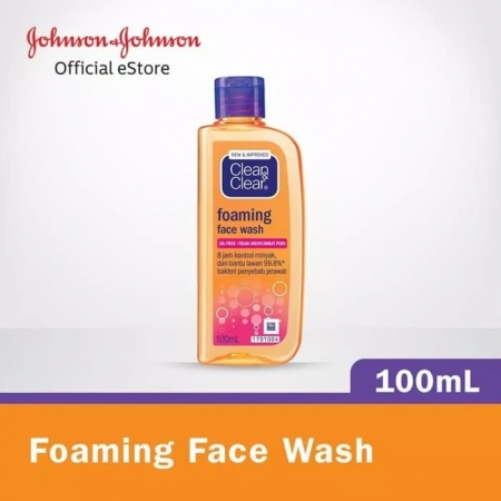 Clean and clear foaming face wash untuk bayi 100ml