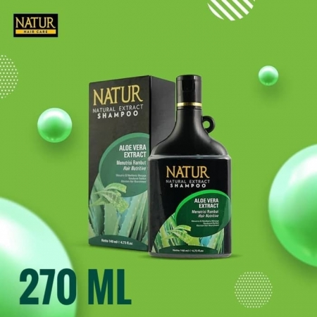 Natur natural extract shampoo aloe vera 270ml