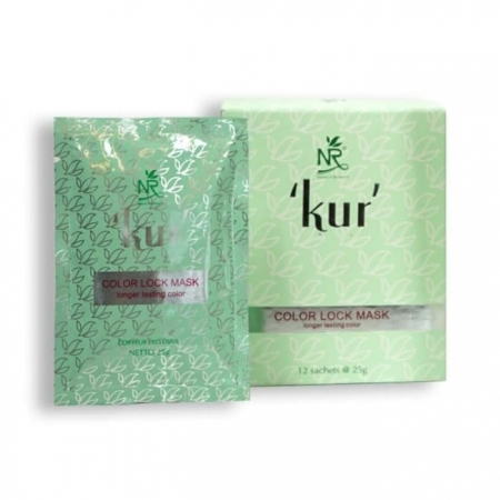 nr kur color lock hair mask 12�25 gr