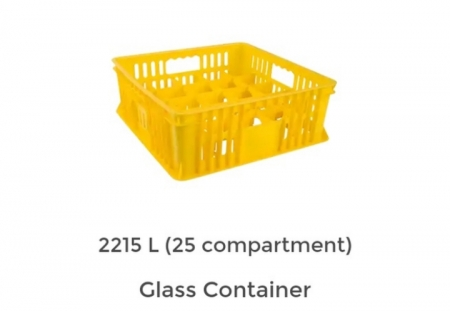 Container greenleaf 2215L glass container tempat botol