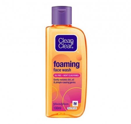 CLEAN & CLEAR Foaming Face Wash 100 ml