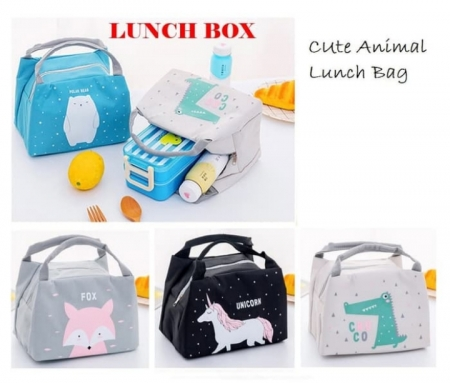 Tas bekal tas lunch box lb05 tas animal cooler bag